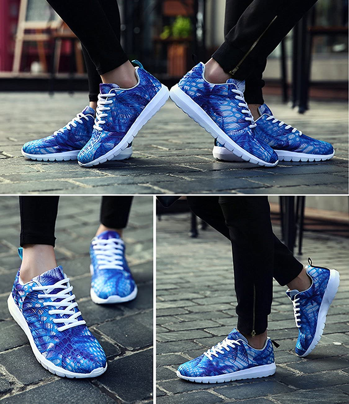 CZF Women Pretty Fashion Sports Shoes Running Sneakers