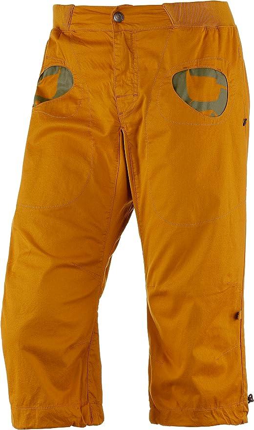 E9 Hombre Pantalón de escalada marrón Talla:large: Amazon.es ...