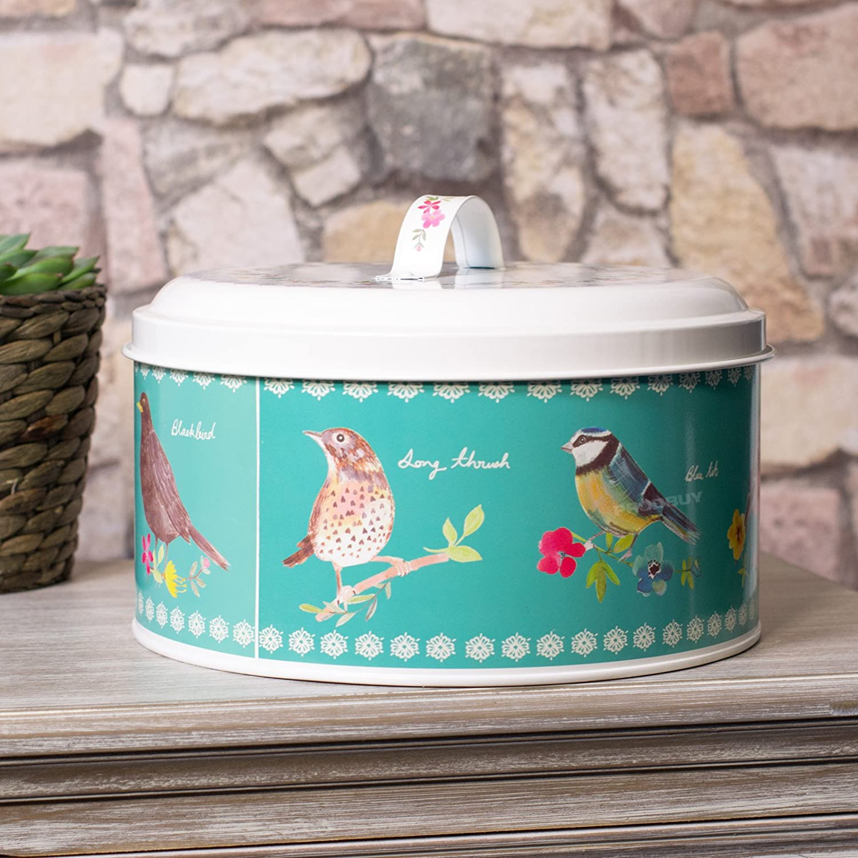 25cm Round Birds Cake Tins