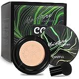 Mushroom Head Air Cushion CC Cream, BB Cream, Moisturizing Concealer, Moisturizing BB Cream Makeup Base Long Lasting with Mus