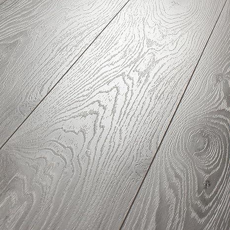 Kronotex Villa Timeless Oak Grey 12mm Laminate Flooring D3571 L1045