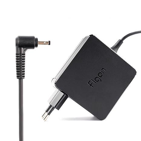 flgan 45 W 2.25 A Fuente de alimentación Cargador Cable de carga para gx20 K11838 gx20l23044 ADP de 45dw Lenovo B50 – 10 80qr/IdeaPad 100/Flex 4 – ...