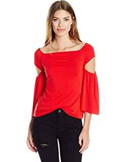 641da2a0abc535 Amazon.com  Bailey 44 Women s Scuttlebutt Cold Shoulder Bell Sleeve ...