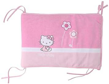 tour de lit hello kitty bébé CTI Tour de Lit   Hello Kitty   Margaux   40x180 cm: Amazon.fr  tour de lit hello kitty bébé