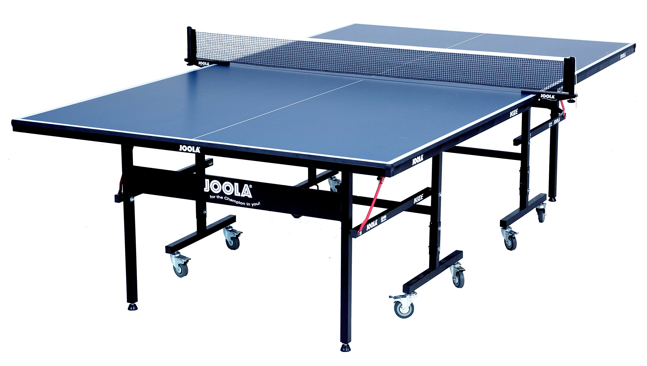 92e6e73ba JOOLA Inside 15mm Table Tennis Table with Net Set - Features Quick 10-Min  Assembly