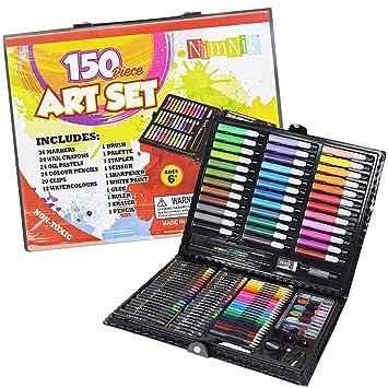 Amazon.com: Juego de arte para niñas de 7 a 12 años, 150 ...