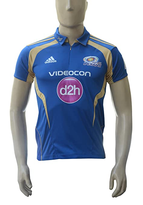 e5c3791b1 Buy Mumbai Indians Official 2013 Series Jersey Online at Low Prices in  India - Amazon.in