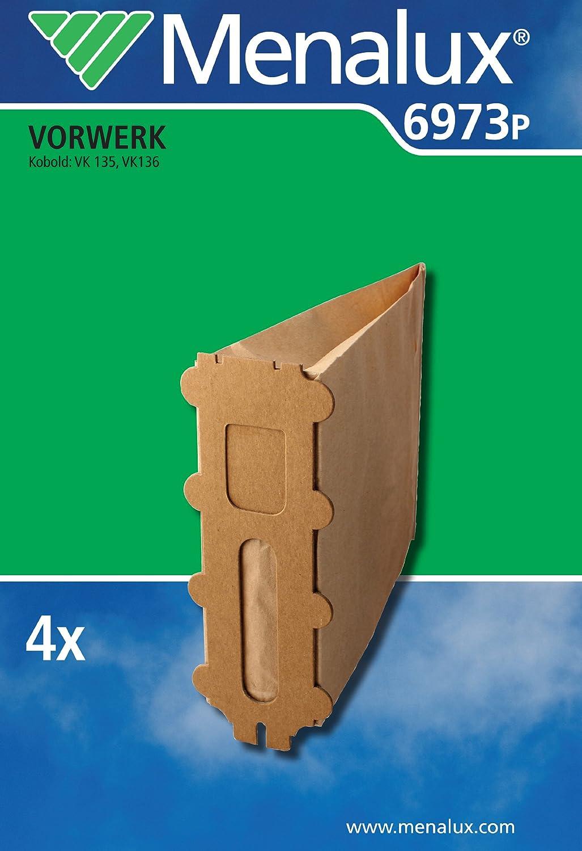 Menalux 6973 P - Bolsas de papel para aspiradoras Vorwerk Kobold ...
