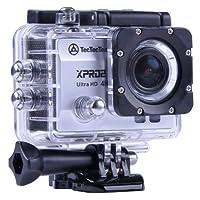 [NUOVO] TecTecTec XPRO2 Action Camera Ultra HD 4K - WiFi Camera di altissima qualità Ultra HD 16 Mp Silver