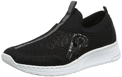 Slip Handtaschen Rieker Damen SneakerSchuheamp; On N5054 OZlPkXiTwu