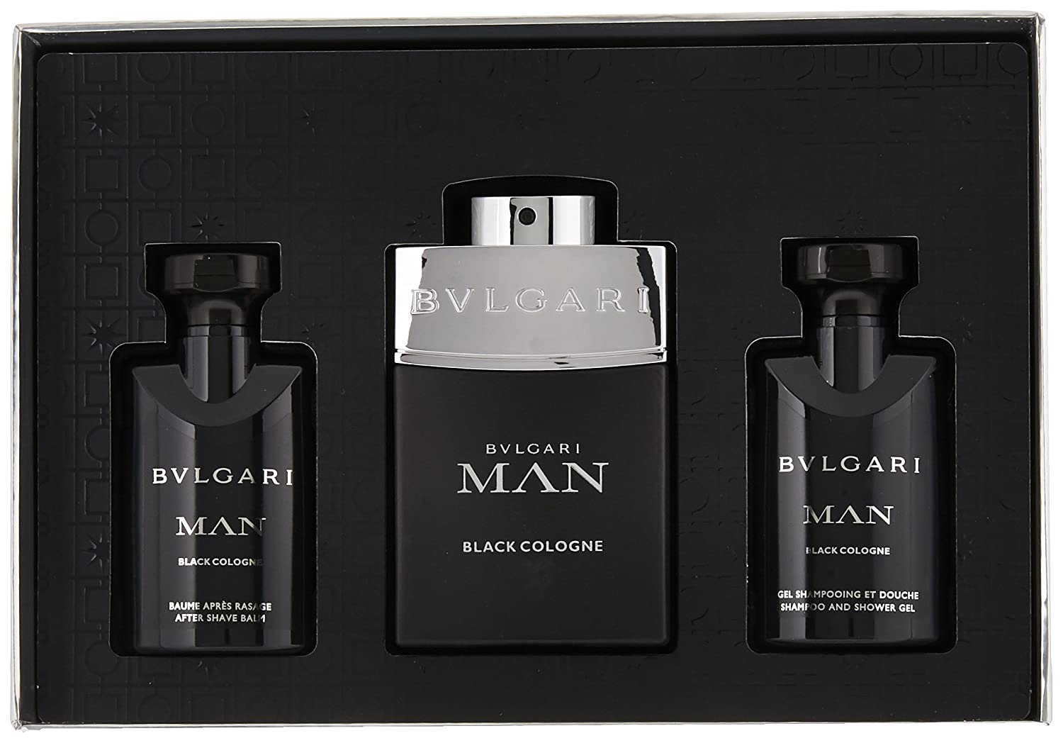 Amazoncom Bvlgari Man In Black Eau De Parfum Spray For Men 34