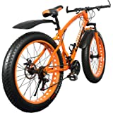 Fat Tyre (Fat Boy) Adventure Sports MTB cycle with 21 Shimano Gears