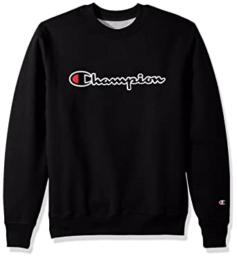 f6b51f5a185e Amazon.com  Champion LIFE Men s Pullover Super Fleece Sweatshirt  Clothing