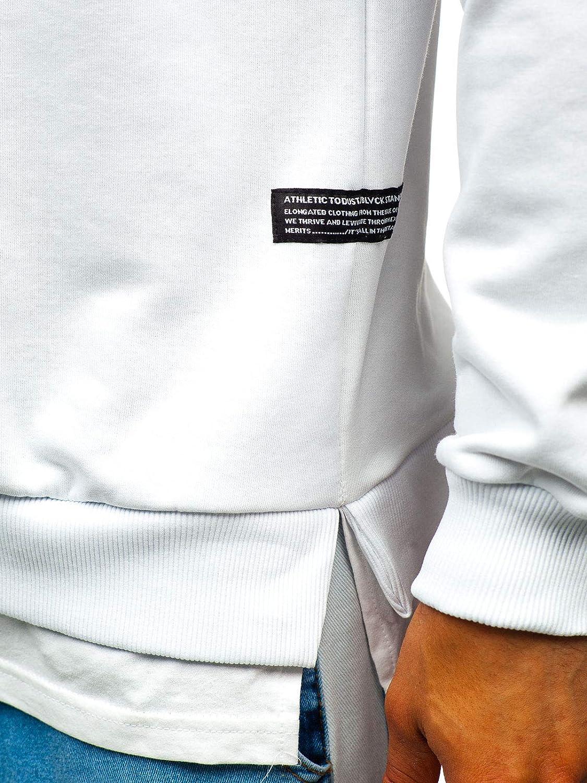Stile Sportivo Stampa Maglia Pullover Senza Cappuccio BOLF Felpa da Uomo Mix 1A1