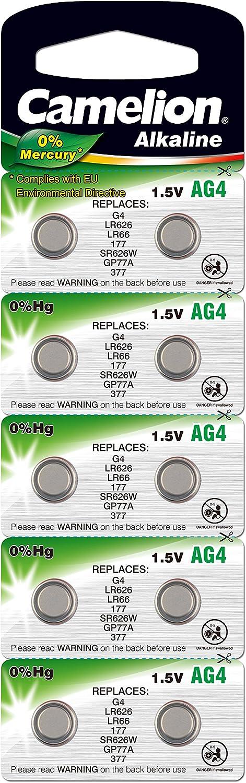10 Xhs Ag4 Alkaline Knopfzelle Ersetzt Sr626sw Sr66 Elektronik