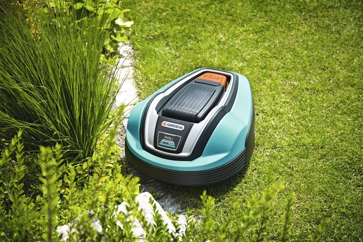 Gardena 04071-20 Robot cortacésped R40Li: Amazon.es: Jardín