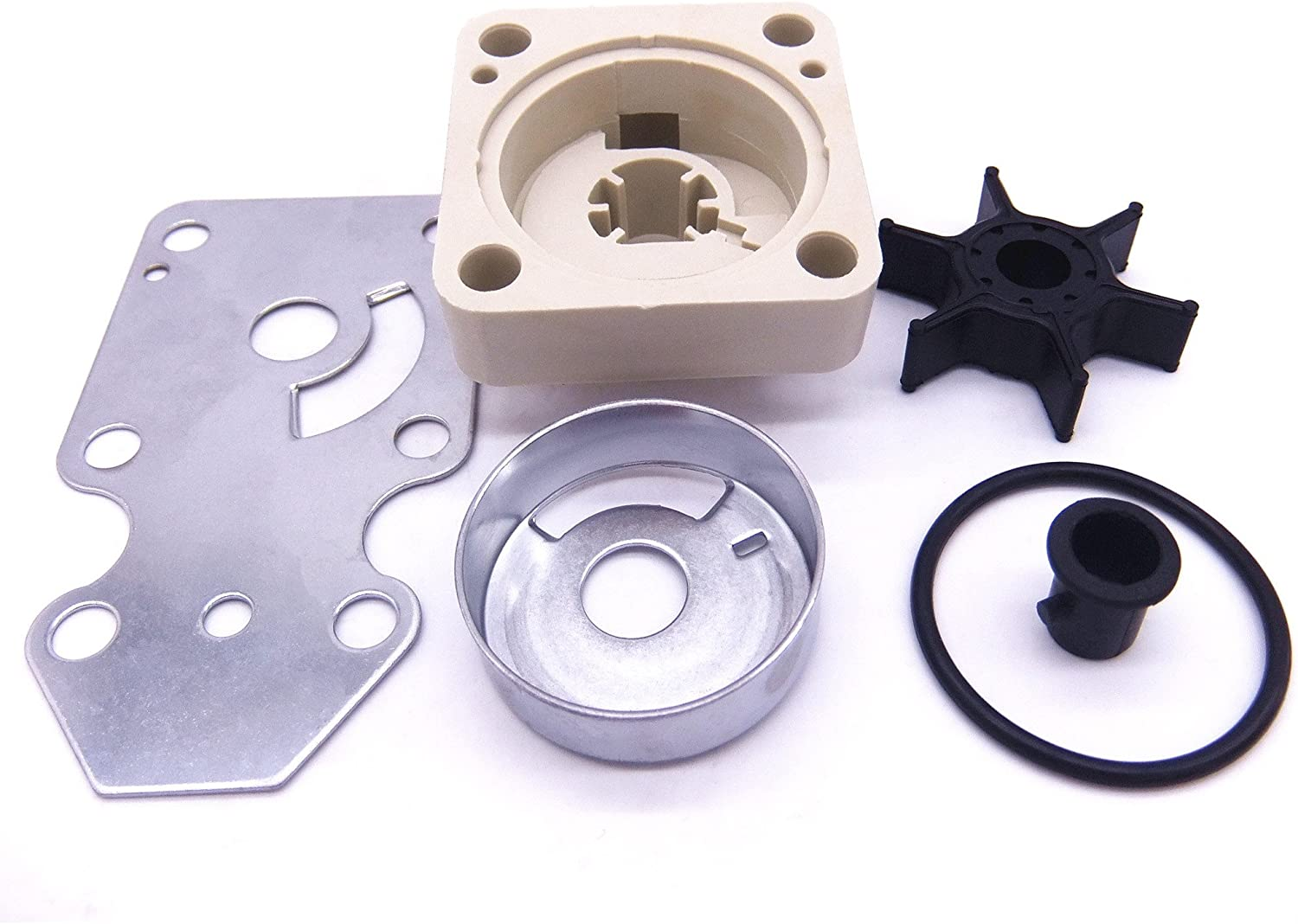 SouthMarine 63V-W0078-01 18-3433 Complete Water Pump Kit Parts for Yamaha/Parsun F15 15hp 4-Stroke Outboard Motor
