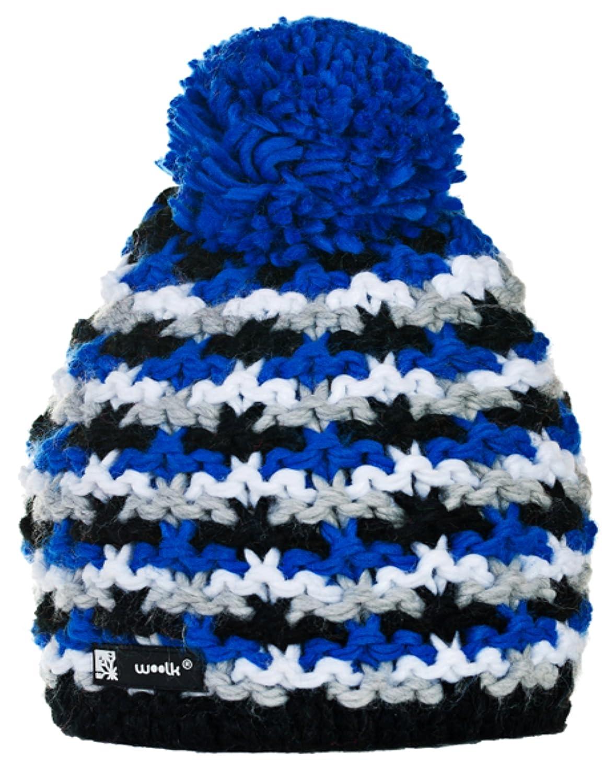 Unisex Winter Cappello invernale di lana Berretto Beanie hat Pera Jersey Sci Snowboard di moda (Batt...