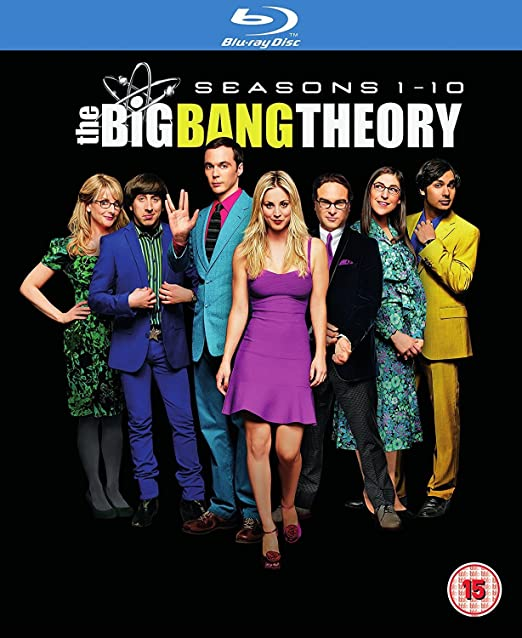 Amazon com: Big Bang Theory - Seasons 1-10 [Blu-ray] [2017