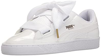 863a6dab662 Puma Women's Basket Heart Patent WN's Sneaker: Amazon.co.uk: Shoes ...