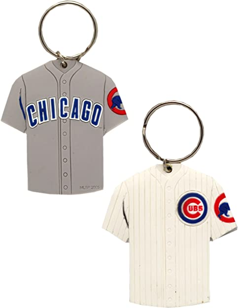 33bc89ec787 Amazon.com  Chicago Cubs Key Chain Jersey 2-Sided 198  Shoes