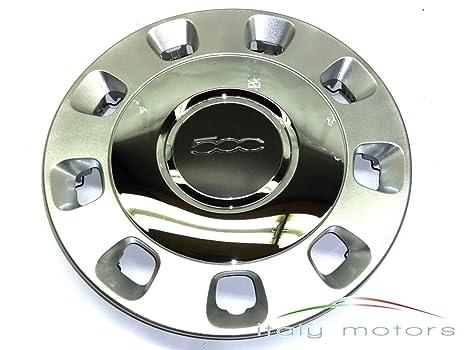 50901871 Fiat rueda original acabado de cromo para el Fiat 500/14-Inch