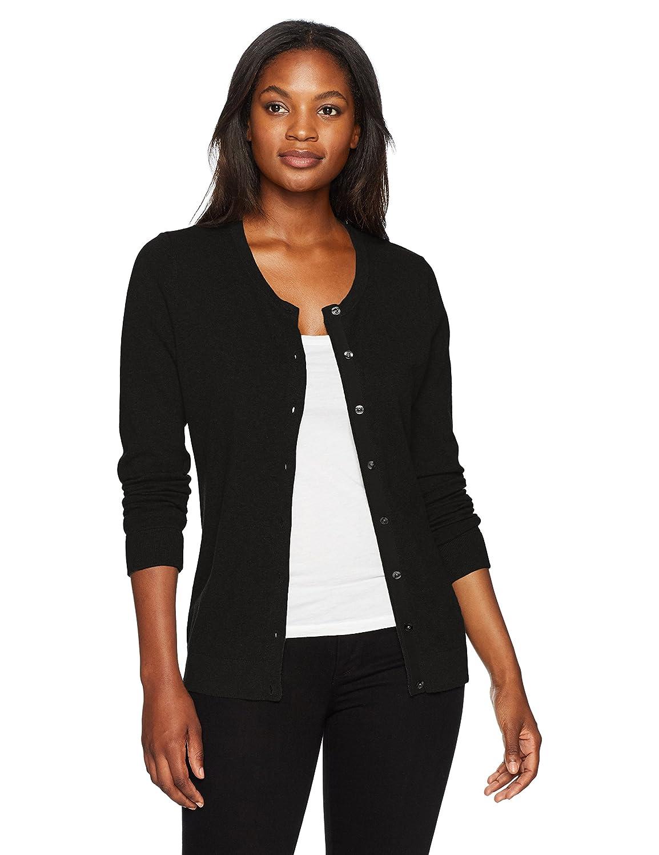 Cutter   Buck Womens Soft Cotton Blend Lakemont Long Sleeve Cardigan Sweater  Shirt  Amazon.co.uk  Clothing 8467f7134