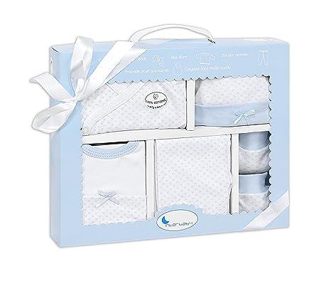 Set Ropa Recién Nacido color azul (5 piezas): Amazon.es: Bebé