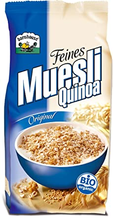 MUESLI QUINOA ORIGINAL BARNHOUS, 500 G