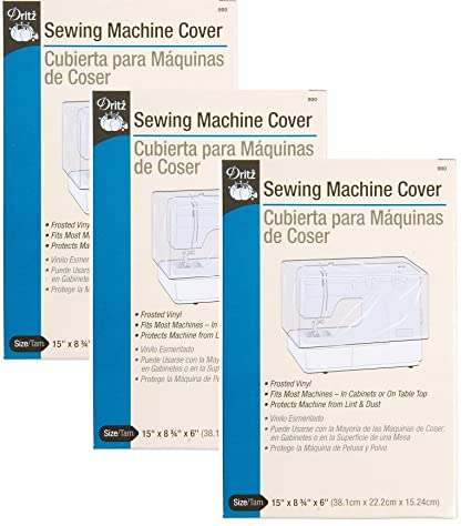 Dritz Sewing Machine Cover (3 Pack)