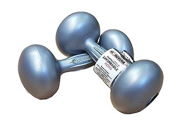 Rovera 639 CC, par Mancuernas zavorrabili a hasta 12 kg de Rellenar con Agua, Sal, Arena Plomo Unisex - Adulto, Gris, Grande: Amazon.es: Deportes y aire ...