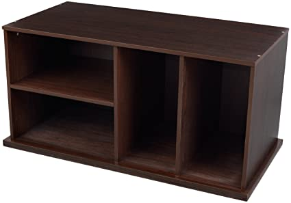 KidKraft Storage Unit With Shelves   Espresso
