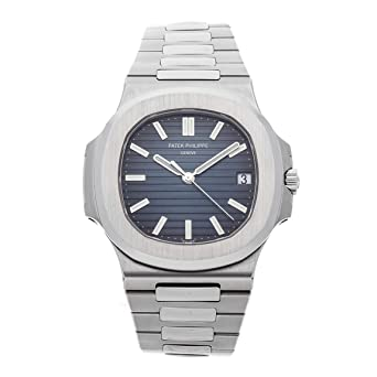 8a9a80ca205 Image Unavailable. Image not available for. Color: Patek Philippe Nautilus  Mechanical (Automatic) Black Dial Mens Watch 5711/1A-010