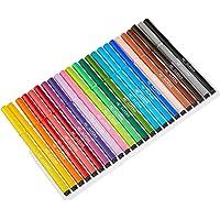 Rotuladores Alpino Coloring para Niños - Estuche de 24 Colores con Punta Fina 3mm - Tinta Lavable - Perfecto para…