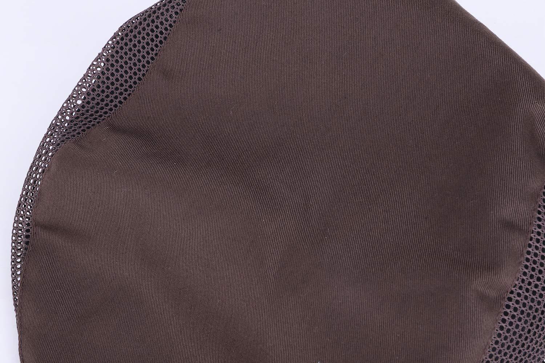 RUIXIA Chapeau Serveur Chapeau Cuisinier B/ér/ét de Cuisine Toque Cuisinier Chapeau Respirant avec Maille pour Restauration Boulangerie H/ôtel