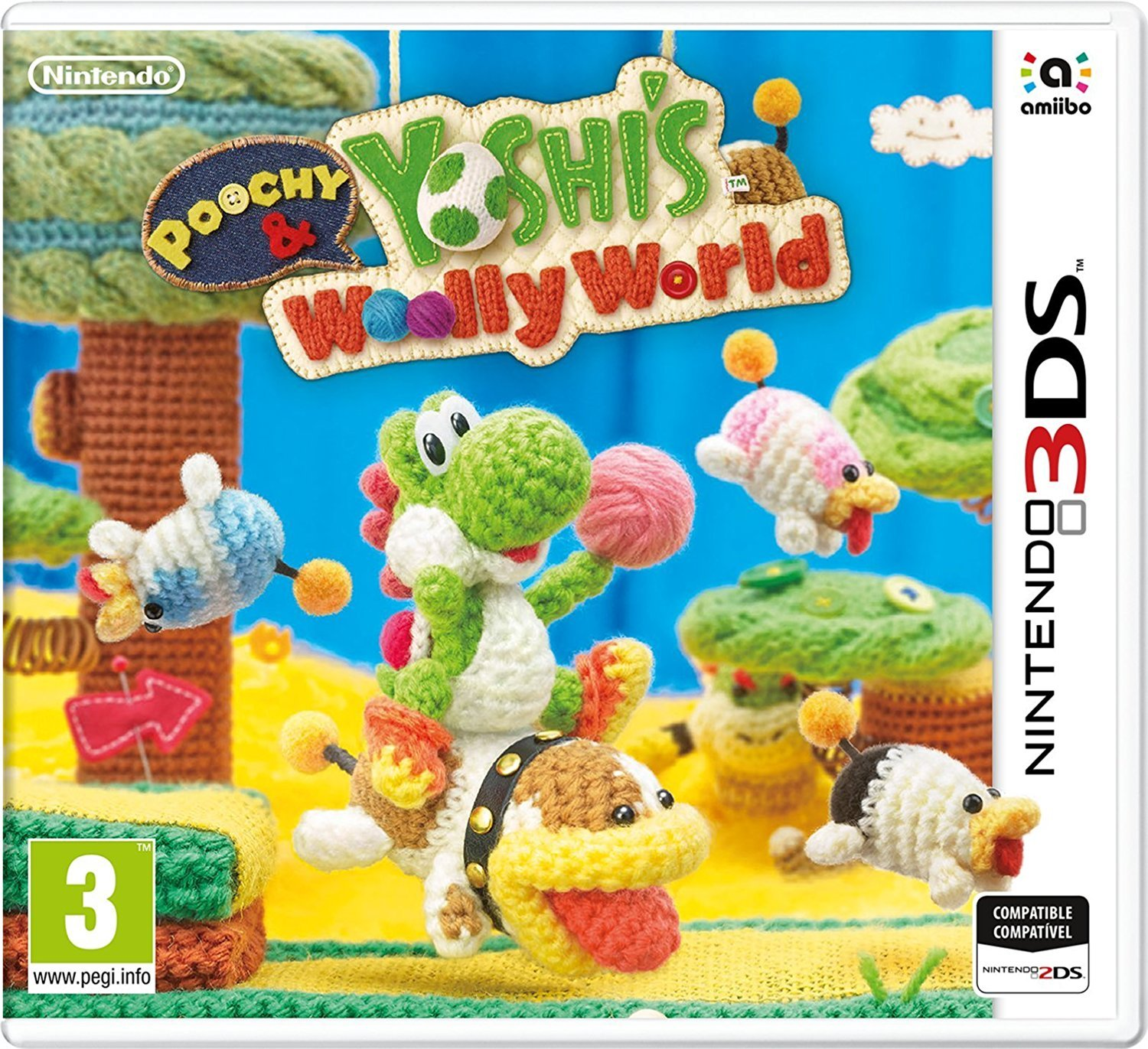 Poochy & Yoshi's Woolly World - 3DS | Good-Feel. Programmeur