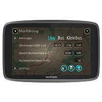 TomTom Go Professional 520 LKW-Navigationsgerät (Update via Wi-Fi, (12,7 cm) 5 Zoll, 50.000 POIs, Smartphone Benachrichtigungen, Lebenslang Karten (Europa), Lebenslang Traffic und Radarkameras) schwarz