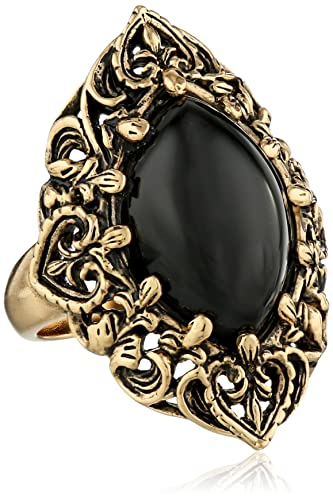 rose products in trouvee rings gold black bezel onix lolita co ring onyx