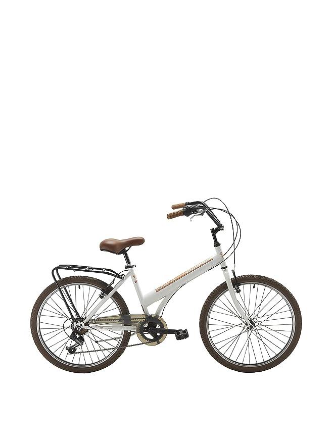 Berg Cycles Bicicleta Crosstown Urban 20 Blanco Unica: Amazon.es ...