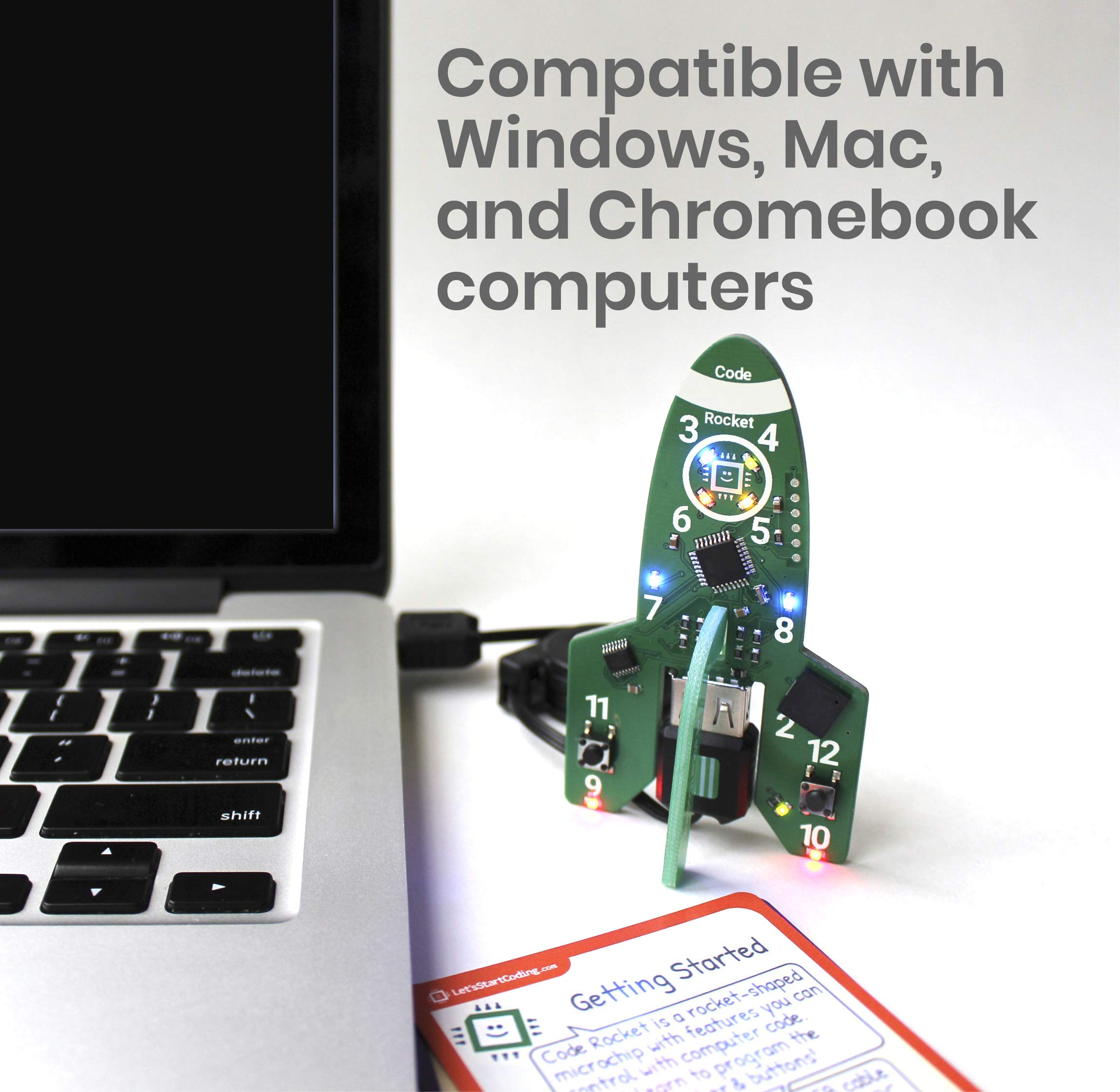 Bundle: Ultimate Kit + Car + Rocket + Piano + Speaker | Coding Kits for Kids 8-13 | Bundle and Save! by Let's Start Coding (Image #7)