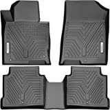 YITAMOTOR Floor Mats Compatible with Optima & Sonata, Custom Fit Floor Liners for 2016-2020 Kia Optima, 2015-2019 Hyundai Son