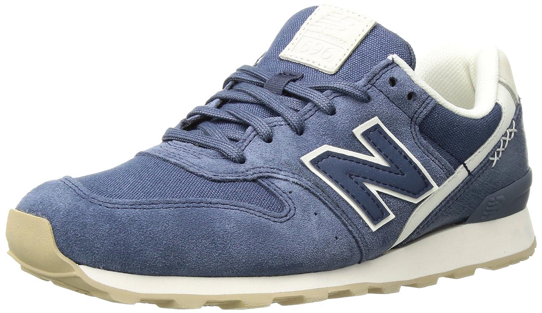 New Balance Women's 696 v1 Sneaker B0751RDTY1 8 B(M) US|Vintage Indigo/Sea Salt