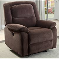 Serta Push-Button Power Recliner with Deep Body Cushions