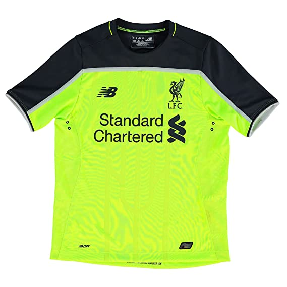 81299465 New Balance Childrens Kids Football Soccer Liverpool Third Shirt 2016-17 -  SB