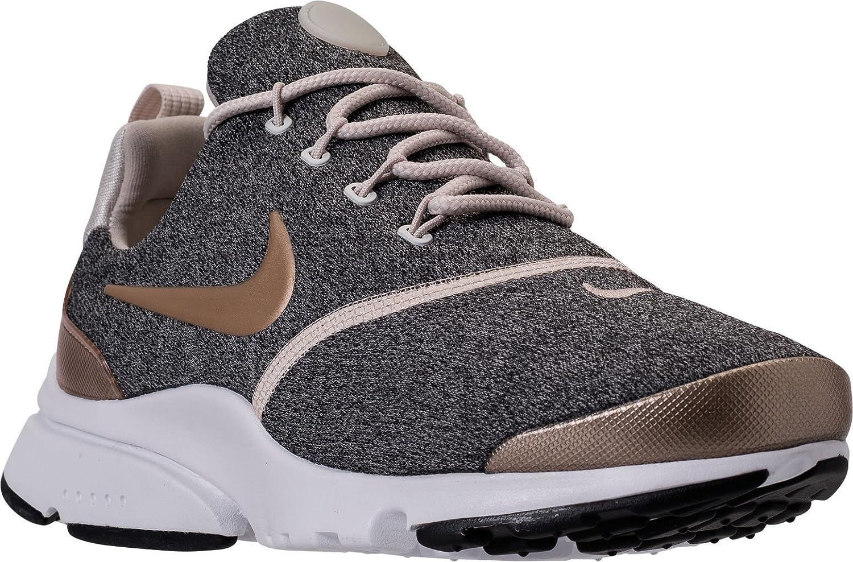 NIKE Presto Fly Womens Running Shoes B0785HV6VP 7 B(M) US|Brn/Blur-black