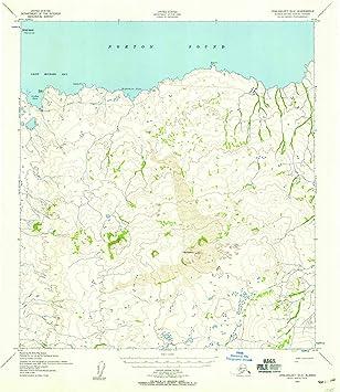 Amazon.com: Alaska Maps | 1952 Unalakleet, AK USGS Historical ...
