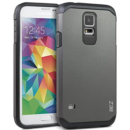 BEZ Funda Samsung Galaxy S5, S5 Neo, Carcasa Compatible para ...