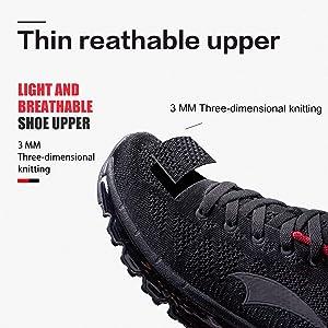 d428460c707e Onemix Uomo Scarpe da Corsa Traspirante Donna Mid-Top Air Cushion Sportive  Running Sneakers Unisex Adulto. ONEMIX Scarpe da Ginnastica Donna Air  Running ...