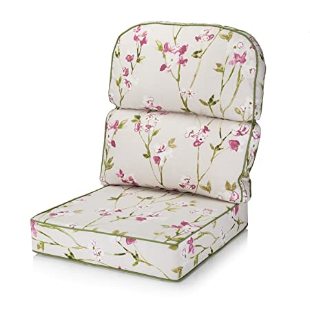 Alfresia Replacement Conservatory Furniture Chair Low Back Cushion - Choice of Fabrics (Blossom Chintz)  sc 1 st  Amazon UK & Alfresia Replacement Conservatory Furniture Chair Low Back Cushion ...
