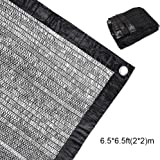 EFFT Life 50%-70% Sunblock Shade Cloth Net Black UV Resistant, Garden Shade Mesh Tarp for Plant Cover, Greenhouse, Barn or Kennel, Top Shade Cloth Quality Panel for Flowers, Plants, Patio Lawn
